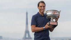 """""""Едно от най-великите спортни постижения"""": Федерер и Мъри свалиха шапка на Надал"""