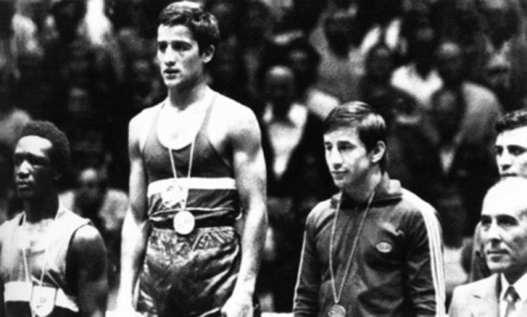 Георги Костадинов - носител на първата олимпийска титла за България в бокса.