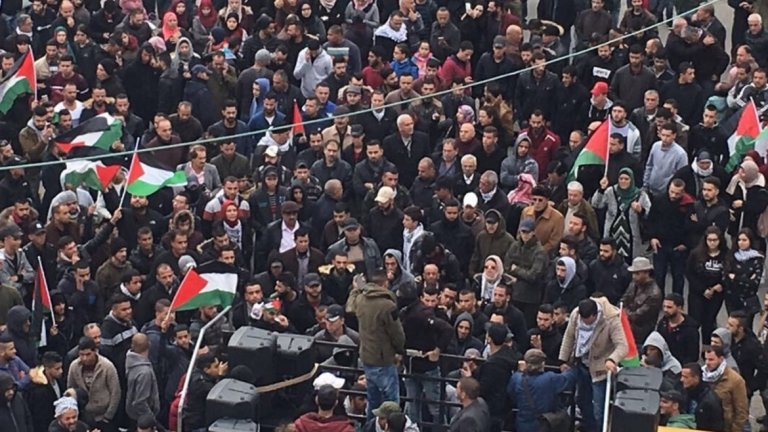 Групи говорят за въоръжена борба след като американският президент призна Йерусалим за столица на Израел.