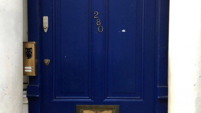 """Вратата на дома на Уилям от """"Нотинг Хил"""""""