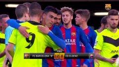 Задържаха треньорите на отбора, който загуби с 0:12 от Барселона Б