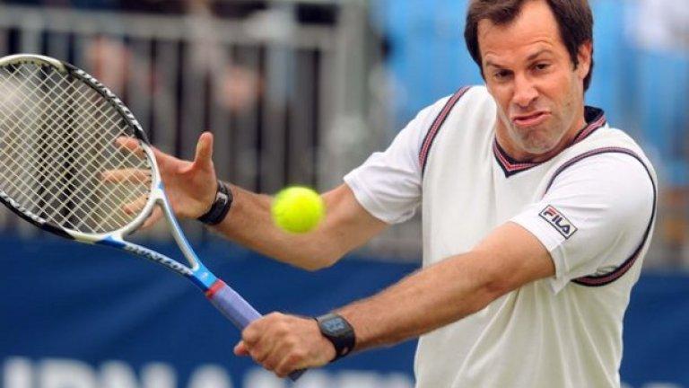 Грег Руседски Бившият №1 на Великобритания бе сред тенисистите, които бяха спипани с нандролон през 2003-а, но после бе оневинен, че е било по невнимание.