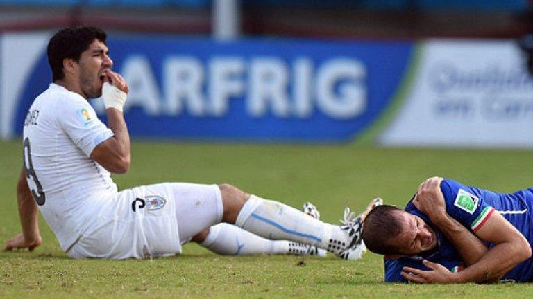 След този инцидент много си мислеха, че кариерата на Суарес може и да приключи. Четера месеца извън терените на клубно ниво и девет мача наказание на национално.