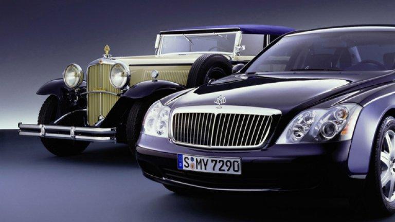 Daimler се възползва от богата история на марката при нейното съживяване