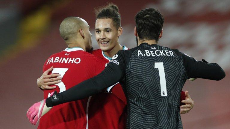 Множеството контузии принудиха Юрген Клоп да се доверява на младоци и да използва дори Фабиньо като централен защитник