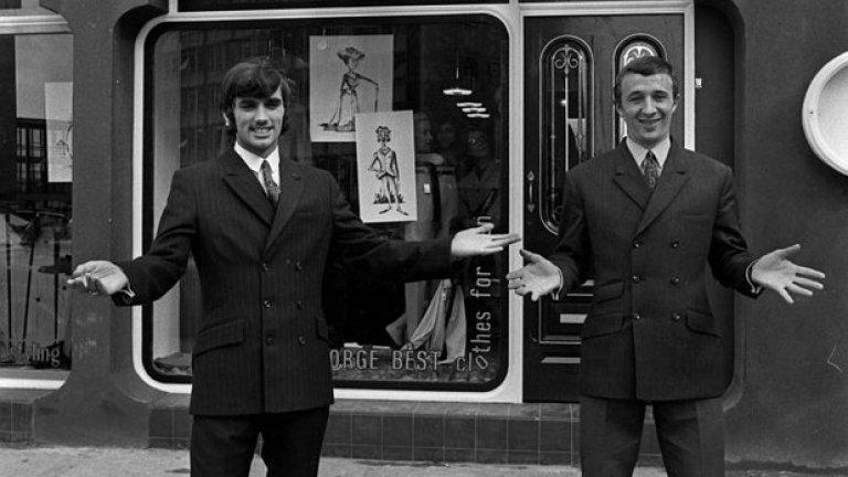 10 октомври 1967 г. - Бест с врага. Бести и Майк Съмърби от Манчестър Сити откриват заедно бутиков магазин в града. Двамата са добри приятели, въпреки съперничеството на терена. Дясното крило на Сити е наричано Бъзър, използвано за хората, които често правят номера на околните. Пасва си идеално с Бест, който е зевзек от подобна величина.