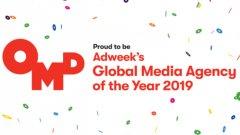 Adweek избра OMD за глобална медия агенция за 2019 г.
