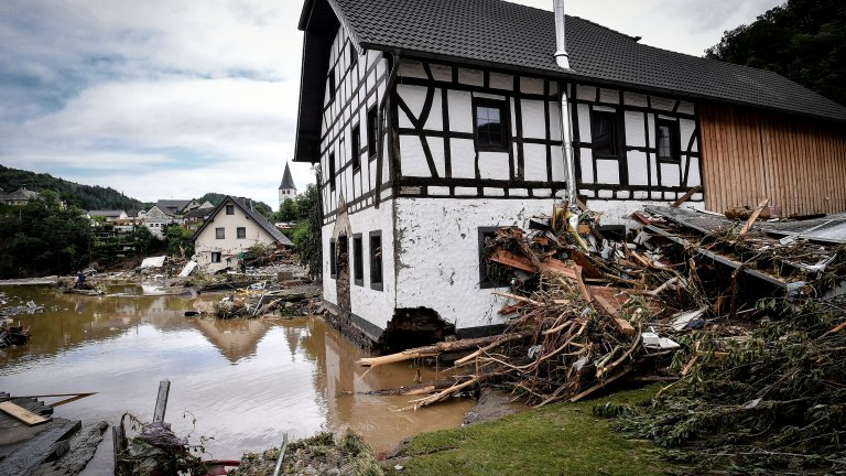 Тежките наводнения засегнаха сериозно Германия, Белгия и Нидерландия