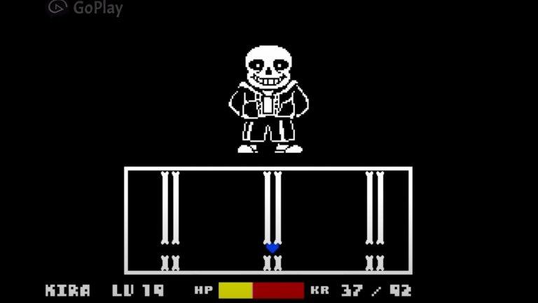 Sans - Undertale  Undertale сама по себе си е изключително нестандартна игра, която ви среща с различни босове в зависимост от различните ви решения в нейния ход. Ако решите да преследвате всяко едно чудовище в подземния свят, то играта ще ви срещне със скелета Sans, а битката с него се превръща в една супер забавна поредица от мини игри. Но това е само, ако успеете да оцелеете след неговите първи атаки. Като се прибави и страхотната музика за фон, финалната битка със Sans става еднно наистина запомнящо се преживяване в класическа 2D игра.