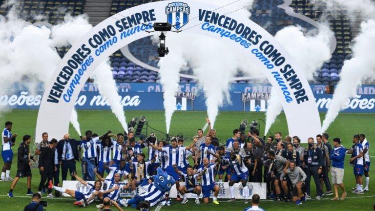 Порто стана шампион на Португалия.