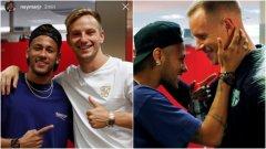 """""""Посетих тренировъчното игрище на Барселона. Видях се с почти всички и беше много готино. Всички ми липсват много."""""""
