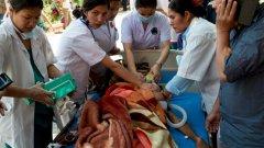 Хеликоптерът изчезна във вторник по време на хуманитарна мисия за помагане на оцелели след земетресението