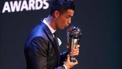 Кристиано Роналдо може да спечели третата си поредна награда The Best