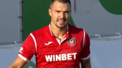Божинов вкара красив гол и ще запомни с добро дебюта си, макар че Ботев не стигна до победата