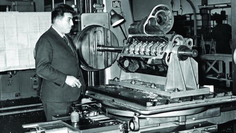 Феручо изгражда фабриката на Lamborghini от нулата и с най-модерното за времето си оборудване