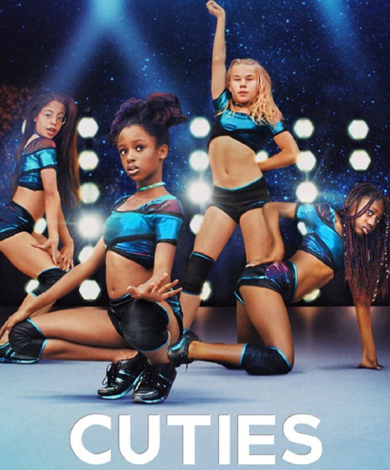 """Американският плакат на """"Cuties"""""""