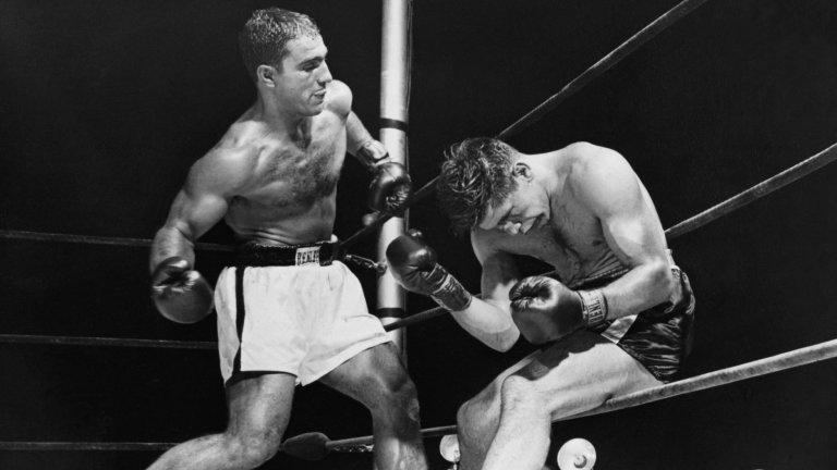 Брутални нокаути, връзки с мафията и една огромна трагедия: Историята на Роки Марчиано, който бе идол дори на Мохамед Али
