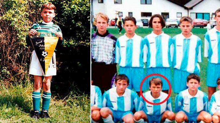 Той е феномен не само във футбола, но и в живота! Женен е за момиче от село и знае какво са дом и родина