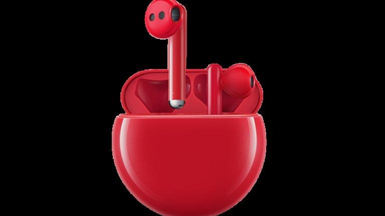 Huawei FreeBuds 3 вече са налични и в атрактивен червен цвят
