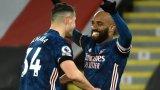 Арсенал се върна към победите с бой по последния