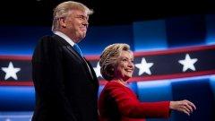 Тонът на дебата определено се диктуваше от Хилари Клинтън, която почти беше иззела и ролята на водещия от NBC Лестър Холт.
