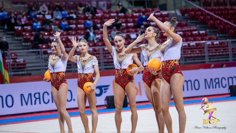 Българският ансамбъл спечели злато на пет топки