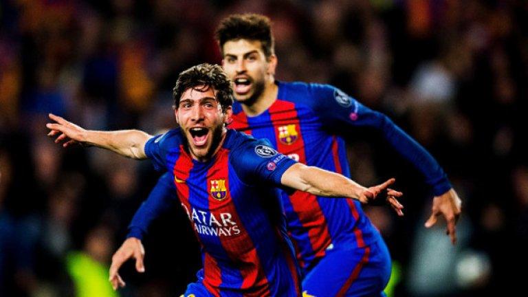 Барселона - ПСЖ 6:1 (Шампионска лига, 2017)  Как да забравиш този мач? Такъв обрат не изглеждаше възможен в големия футбол. Пари Сен Жермен изигра един от най-силните двубои в цялата си история, за да разгроми Барса с 4:0 в първия сблъсък, но в реванша се поддаде на напрежението по начин, който стана емблема на отбора напоследък. Барселона пък постигна истински подвиг, след като до 88-ата минута водеше само с 3:1 и се нуждаеше от още цели три чисти гола. Единият главен герой в срещата беше Неймар, който още същото лято премина в ПСЖ за рекордните 222 млн. евро. Другият беше съдията Денис Айтекин, който направи всичко възможно каталунците да триумфират, отсъди две смешни дузпи за тях и не даде чиста такава в полза на французите.