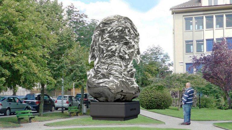 Паметникът на Луи Шевроле в родния му град ще изглежда така