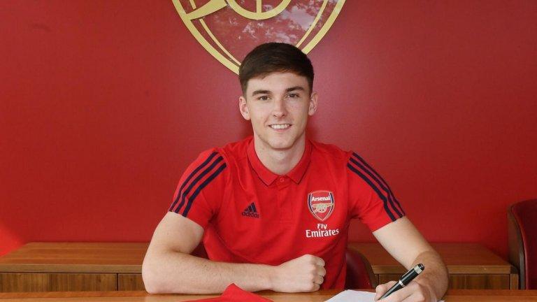 Киърън Тиърни – от Селтик в Арсенал, 25 млн. паунда