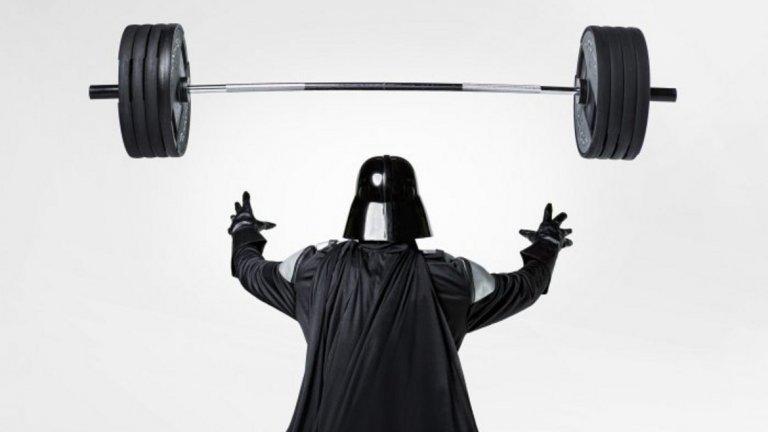 А какво ще кажете за фитнес тренировка, вдъхновена от популярния филм?