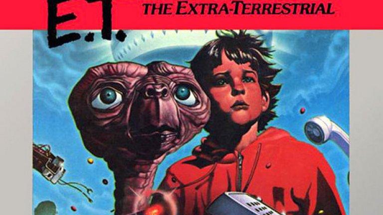 Злощастната и неразбрана игра E.T. излиза в края на декември 1982 г. и в крайна сметка продава 1,5 милиона копия, 1 милион от които са върнати обратно от недоволни потребители