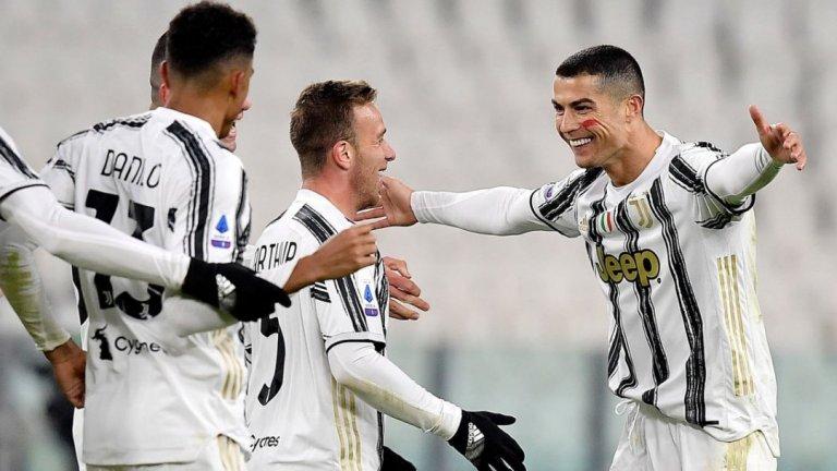 Роналдо донесе успех на Юве, а от клуба гарантираха: Той остава!