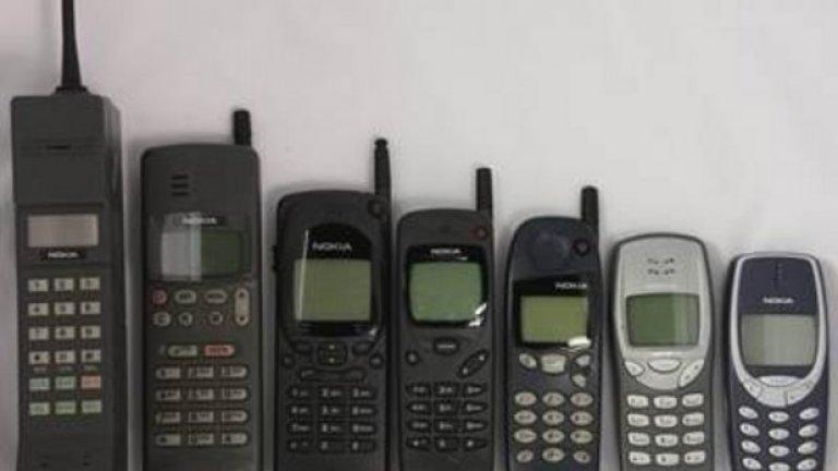 Телефоните Nokia наистина ще ни липсват. Ето и няколко причини защо:  1. Защото са история  От Mobira Senator - първия им мобилен телефон или по-скоро мобилна станция, за която ти трябва автомобил, за да я пренасяш и захранваш, през Mobira Talkman 900 (първият на снимка) до иконата 3310, която стана символ на един преломен момент в развитието на технологията