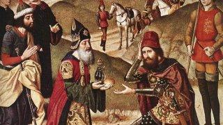 Старият завет разказва за още един непорочно заченат човек - царят на Йерусалим