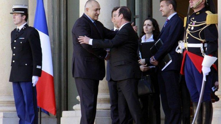 """Френският президент поздрави Борисов, за """"правилната"""" позиция """"да поддържа споразумението от Минск"""""""