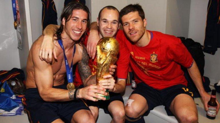 Къде са те сега: Световните шампиони на Испания от 2010 г. Вижте в галерията...