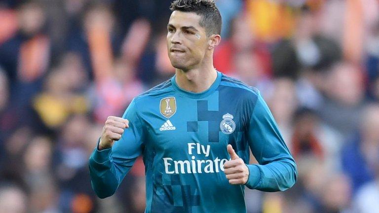 Роналдо с два гола от дузпи