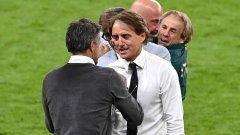 Манчини: Не бяхме супер, но се борихме; Енрике: За Италия съм!