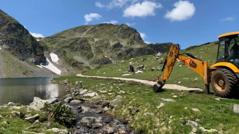 Ще бъде извършена и бърза проверка на строителните дейности в района