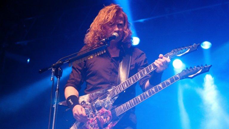 Megadeth  Фронтменът и лидер Дейв Мъстейн е събрал цялата банда в домашното си студио в Нешвил. Там се осъществяват записите на 18-те песни от 16-тия студиен албум на траш метъл легендите. В средата на юни МегаДейв разкри, че барабаните и бас партиите вече са завършени. Мъстейн направи и голяма реклама на новото издание, като обяви, че според него то директно влиза в топ 5 на албумите на Megadeth. Басистът Дейвид Елефсън пък го сравни с класиката от 1992 г. Countdown to Extinction. Така че заявката е сериозна и остава Megadeth да доведат проекта докрай.  Дата на излизане: неизвестна