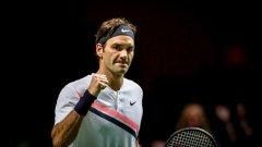 Григор не успя да повали могъщия Федерер и от седмия опит