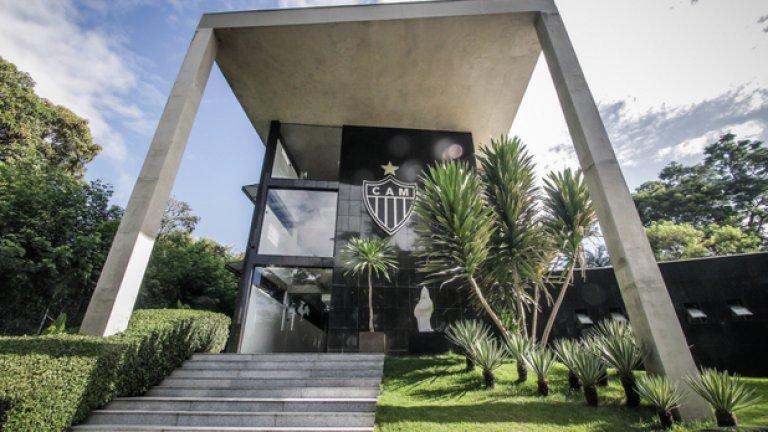 Cidade do Galo, Атлетико Минейро Ресторант, кино и СПА център са сред удобствата в базата на бразилския тим.