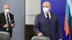 Заповедта за разпускане на НОЩ е издадена от Борисов