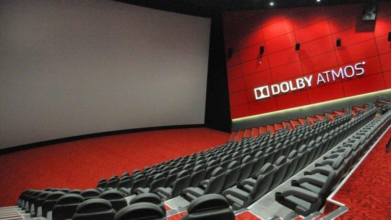 Новата зала има 405 места, огромен огънат екран и звук по съраунд системата Dolby Atmos. Специално за премиерата на залата в София пристигнаха представители на Dolby Atmos и на системата за озвучаване Christie Vive Audio