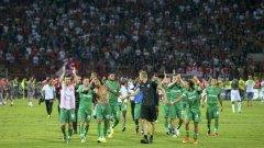 """Лудогорец наистина игра """"каталунската"""" на моменти срещу Цървена Звезда"""