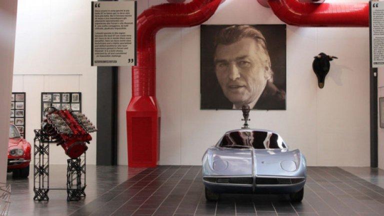 От самото начало Ламборгини вярва, че един истински GT автомобил трябва да има V12 мотор