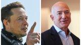 Надцаквания по милиардерски в борбата за най-богат човек на света
