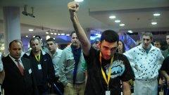 """""""Зелената машина"""" Идан Грийнберг мачкаше всички почти от самото начало на EUREKA Poker Tour в Златни пясъци"""