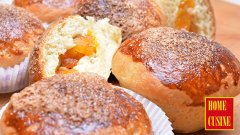 Козуначени мъфини с орехи и сушени плодове