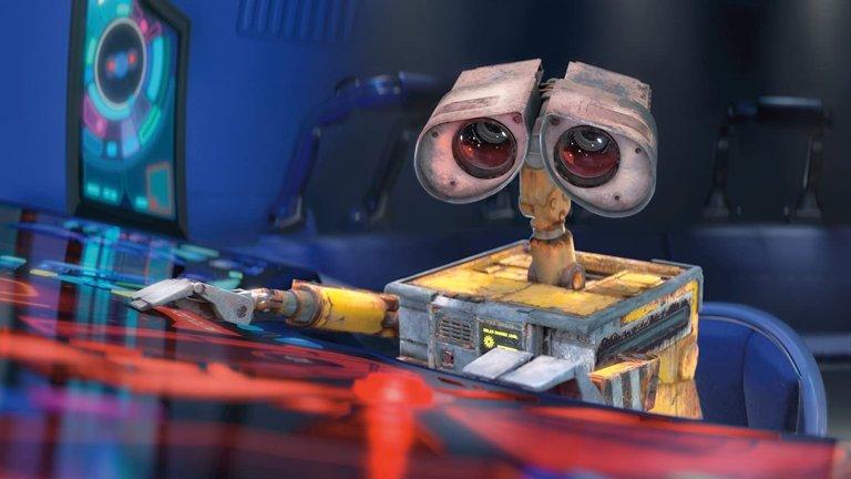 """""""УОЛ-И""""  Този малък робот ще ни научи колко е важно да пазим планетата и природата, а това в днешно време е важен урок. Той разчиства иначе необитаемата вече Земя, която сме задръстили с боклук, само че една неочаквана поява на друг робот ще промени рутината на УОЛ-И..."""